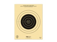 Kruger NRA 50 yd Smallbore Rifle Target, 7 inchx9 inch, 100ct