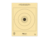 Kruger NRA 25 ft Air Rifle Target, 7 inchx9 inch, 100ct