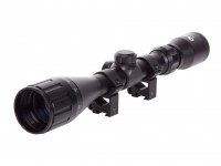"Hatsan Optima 3-9x40 AO Rifle Scope, Mil-Dot Reticle, 1"" Tube, 11mm Rings"