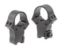 Sun Optics USA Sun Optics 1 inch Adj. Rings, High, 11mm Dovetail, 4 Screws/Cap