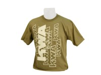 KWA T-Shirt, Olive/Tan