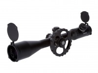 Hawke Sport Optics Airmax 30 SF 4-16x50 Rifle Scope, Ill. AMX Mil-Dot Reticle, 1/4 MOA, 30mm Tube