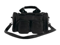 Bulldog Deluxe Range Bag With Shoulder Strap, Black