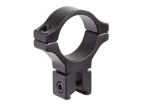 BKL Single 30mm Single Strap Ring, 3/8 inch or 11mm Dovetail, .60 inch Long, High, Black