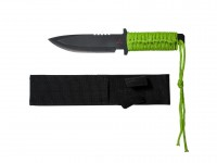 Tactical Crusader Tactical Zombie Knife, 5-1/2 inch Blade, Spear Point, Nylon Sheath