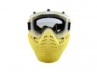 TSD Scott Vectra Airsoft / Paintball Referee Yellow Goggle  Anti-Fog Mask