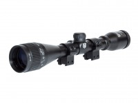 Nikko Stirling MountMaster 6x40 AO Mil Dot Air Rifle Scope