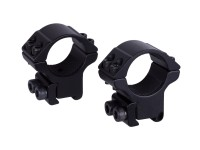 Hawke Sport Optics Hawke Match 1 inch Rings, Medium, 9  to 11mm, 2 pc.