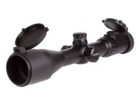UTG 2-16x44 AO Accushot SWAT Rifle Scope, EZ-TAP, UMOA Reticle, 1/4 MOA, 30mm Tube, Picatinny/Weaver Rings
