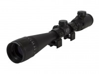 Refurbished CenterPoint 4-16x40 AO Rifle Scope, Illuminated TAG-Style Reticle, 1 inch Tube, Picatinny Rings