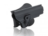 Swiss Arms Colt 1911 Paddle Polymer Holster for 1911 Air & Airsoft Pistols, Black