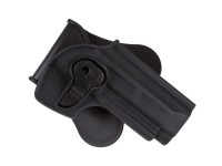 Cytac T92 Paddle Polymer Holster fits various Beretta 92 Air & Airsoft Pistols, Black