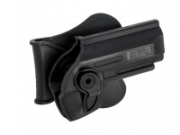 Swiss Arms Poly Holster fits various Taurus PT92, Beretta 92 Air & Airsoft Pistols, Black