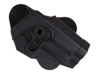 Cytac Swiss Arms S226 Paddle Polymer Holster for Sig Sauer Air & Airsoft Pistols, Black