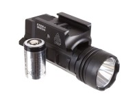 UTG Sub-Compact Pistol Flashlight, 400-Lumen CREE 3V LED, Picatinny Mount