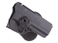 SIG Sauer Sig Paddle Polymer Holster Fits P250 CO2 Pistol, Black