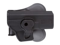 Cytac CY-G19 Paddle Polymer Holster for G19,23, and M-22 Air & Airsoft Pistols, Black