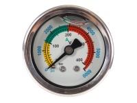 Air Venturi Air Pressure Gauge, 0-6,000 psi  1/8 inch BSPP
