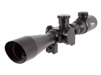 Hatsan 4-16x44E SFT Rifle Scope, Illuminated Mil-Dot Reticle, 1/8 MOA, 30mm Tube