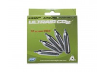 ASG UltraAir 12g CO2 Cartridges, 5pk