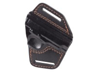 Gletcher TT Leather Belt Holster, Black