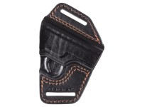 Gletcher APS Leather Belt Holster, Black