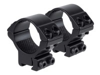 Hawke Sport Optics Hawke Match 30mm Rings, Med, 9-11mm, 2 pc.