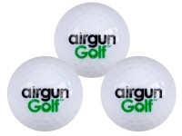 Air Venturi Airgun Golf Exploding Golf Ball, 3ct