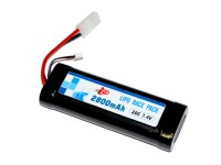 TSD/Intellect 7.4V 2800 mAh 20C LiPo AEG Battery, Large Pack
