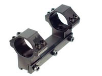 UTG Leapers Accushot 1-Pc Mount w/30mm Rings, High, 11mm Dovetail