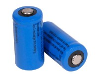 UTG JY CR123A 3V Lithium Batteries, 2 PCs per Pack