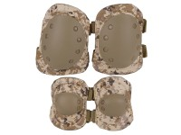 Firepower Safety Elbow & Knee Pad Set V4 , Desert