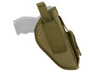 AMP Tactical Belt Pistol Holster, Tan