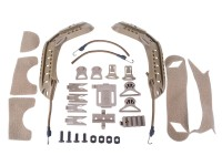 AMP Tactical AMP CORE BJ Tan Airsoft Helmet Accessories