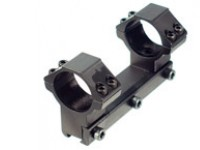 Refurbished Leapers Accushot 1-Pc Mount w/30mm Rings, High, 11mm Dovetail