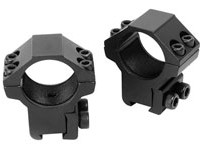 Crosman Centerpoint 1 inch Rings, Medium, 3/8 inch Dovetail