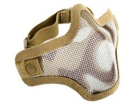 Firepower Mesh Half Mask, Single Strap, Desert