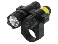 BSA Optics TWLLCP 650nm Tactical Weapon Red Laser Sight w/Flashlight