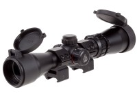 UTG 2-7x32 Handgun Scope, Ill. PDC Reticle, 1/4 MOA, 1 inch Tube
