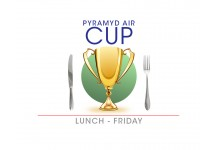 Pyramyd Air Cup Friday Guest Lunch
