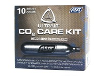 ASG Ultrair 12gr. CO2 Cartridge 10 pcs (9 std./1 lubricated)