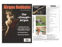 Airgun Hobbyist Magazine 4th Qtr. 2019