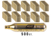 ASG UltraAir 12g CO2 Cartridges, 500ct