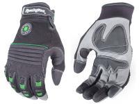 Radians Remington R-13 Full-Finger Gloves, Gel-Padded, Large