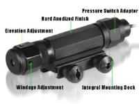 UTG Deluxe Tactical Green Laser Sight, Integral Weaver/Picatinny Mount