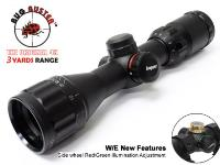 Leapers 5th Gen 3-9x32AO Bug Buster Compact Rifle Scope, Illuminated Mil-Dot Reticle, 1/4 MOA, 1 inch Tube
