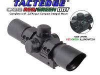 Leapers Golden Image 34mm Red/Green Dot Sight, 3/8 inch Low-Profile Mount