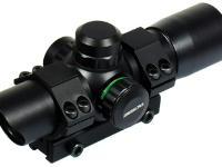 Leapers Golden Image CQB 25mm Red-Green Dot Sight, 5 MOA, 3/8 inch Dovetail Mount