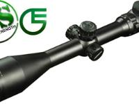 Leapers SWAT 4-16X56AO Rifle Scope, Full-Size, Range-Estimating, Illuminated Red/Green Mil-Dot Reticle