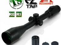Leapers Accushot 4-16x56AO Rifle Scope, Illuminated Mil-Dot Reticle, 1/8 MOA, 30mm Tube